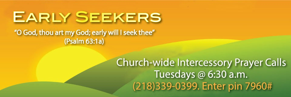 Early Seekers Intercessory Prayer
